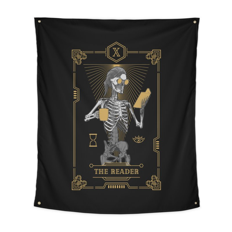 The Reader X Tarot Card Home Tapestry by Grandio Design Artist Shop
