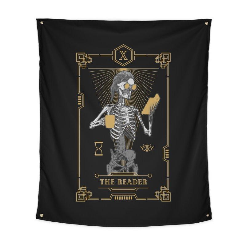 The Reader X Tarot Card Home Tapestry by Grandio Design Artist Shop