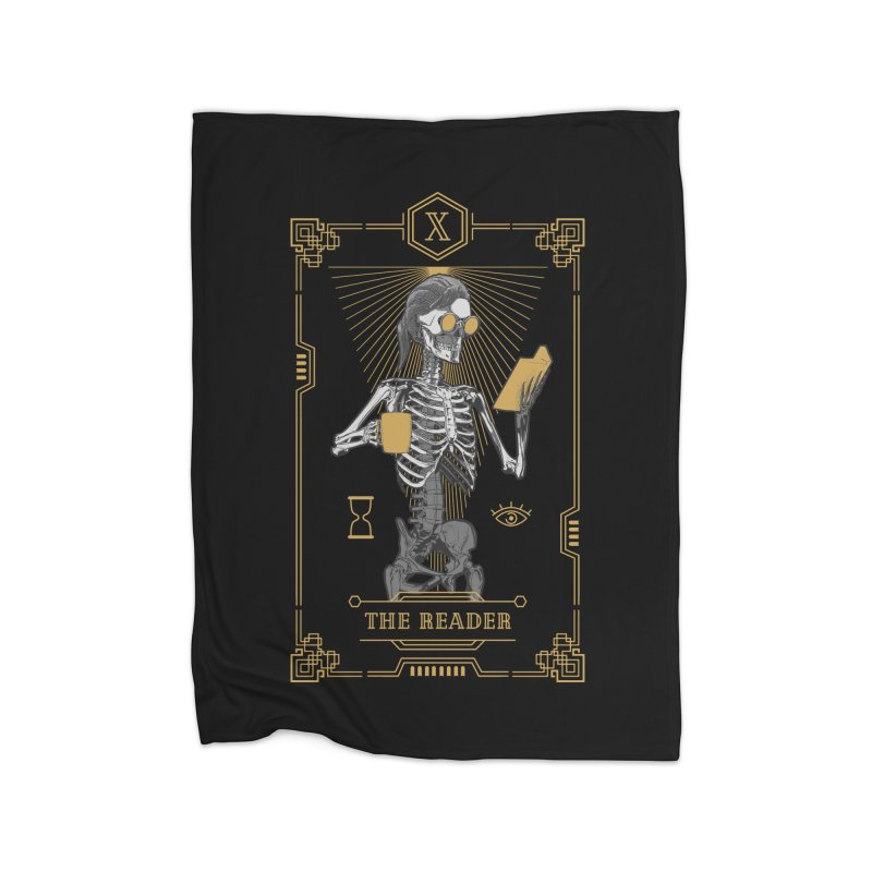 The Reader X Tarot Card Home Blanket by Grandio Design Artist Shop