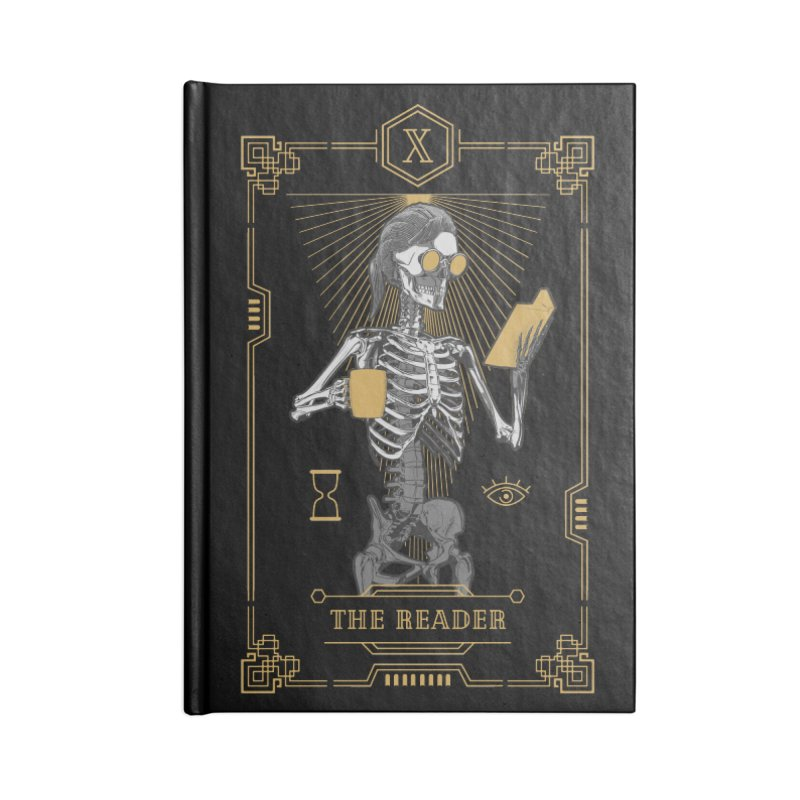 The Reader X Tarot Card Accessories Notebook by Grandio Design Artist Shop