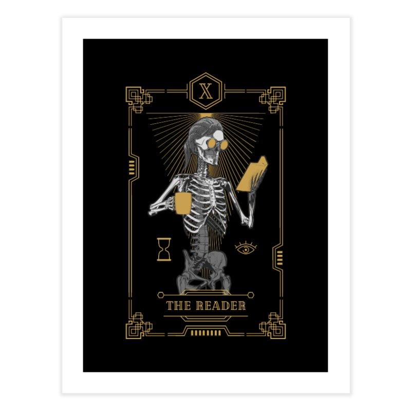 The Reader X Tarot Card Home Fine Art Print by Grandio Design Artist Shop
