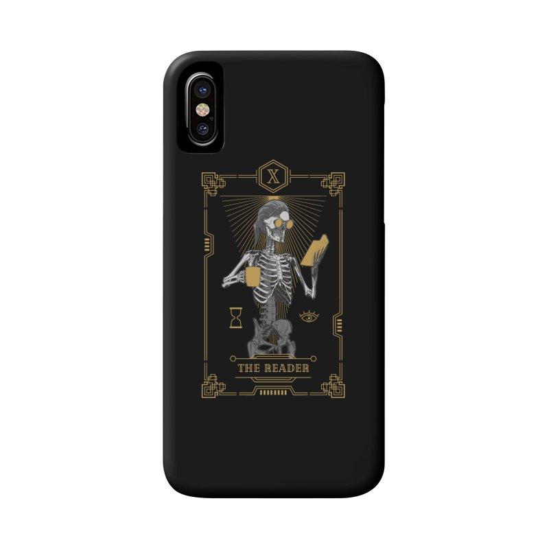 The Reader X Tarot Card Accessories Phone Case by Grandio Design Artist Shop