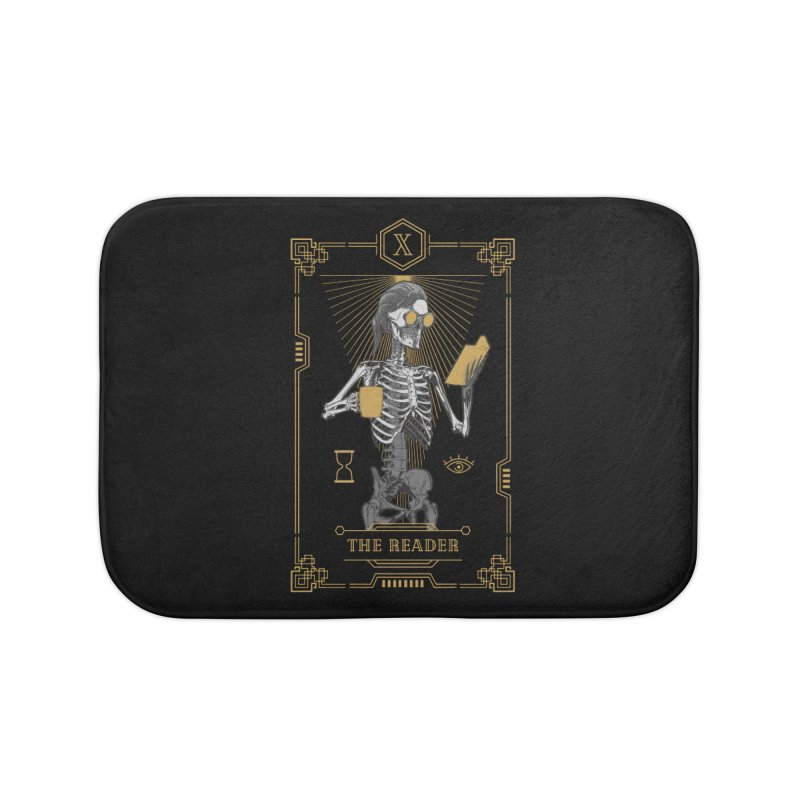 The Reader X Tarot Card Home Bath Mat by Grandio Design Artist Shop