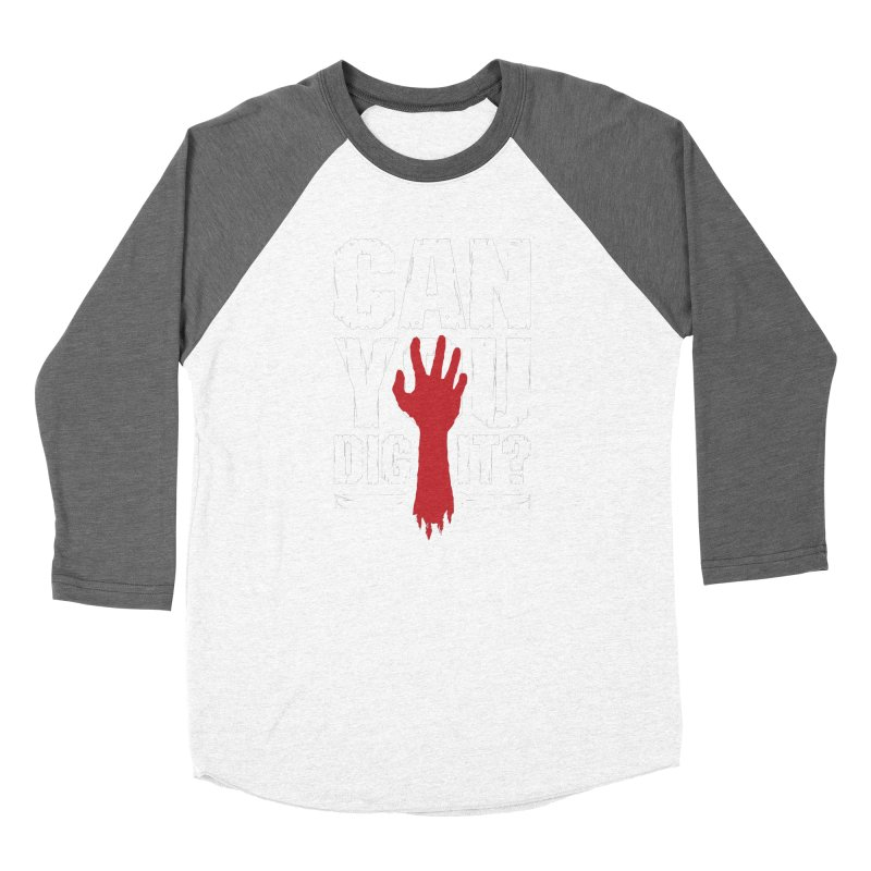 Can You Dig It? Funny Zombie Halloween Women's Longsleeve T-Shirt by Grandio Design Artist Shop