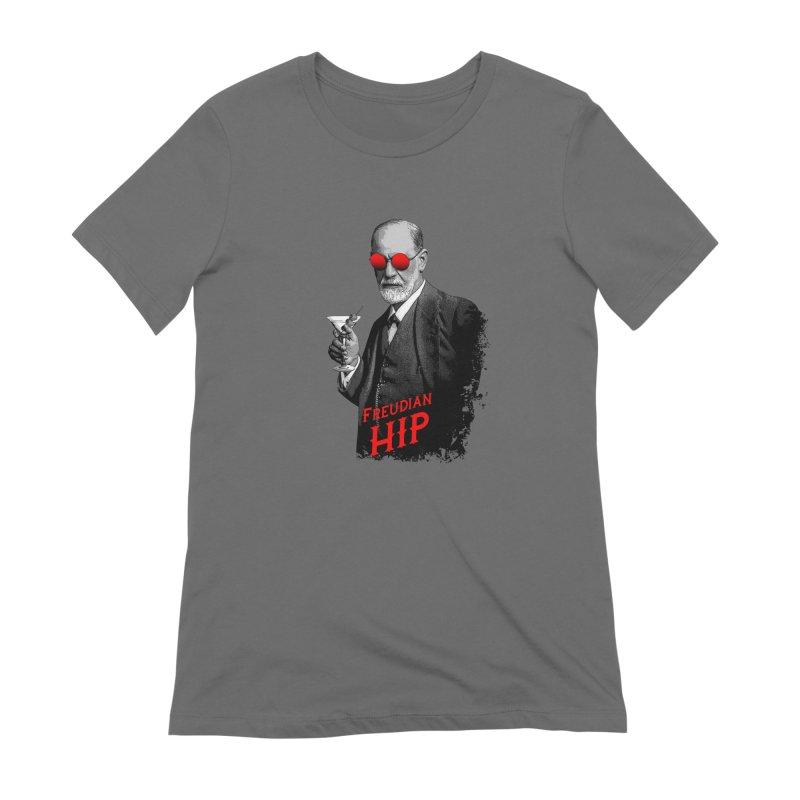 Hipster Psychologist Sigmund Freud Women's T-Shirt by Grandio Design Artist Shop