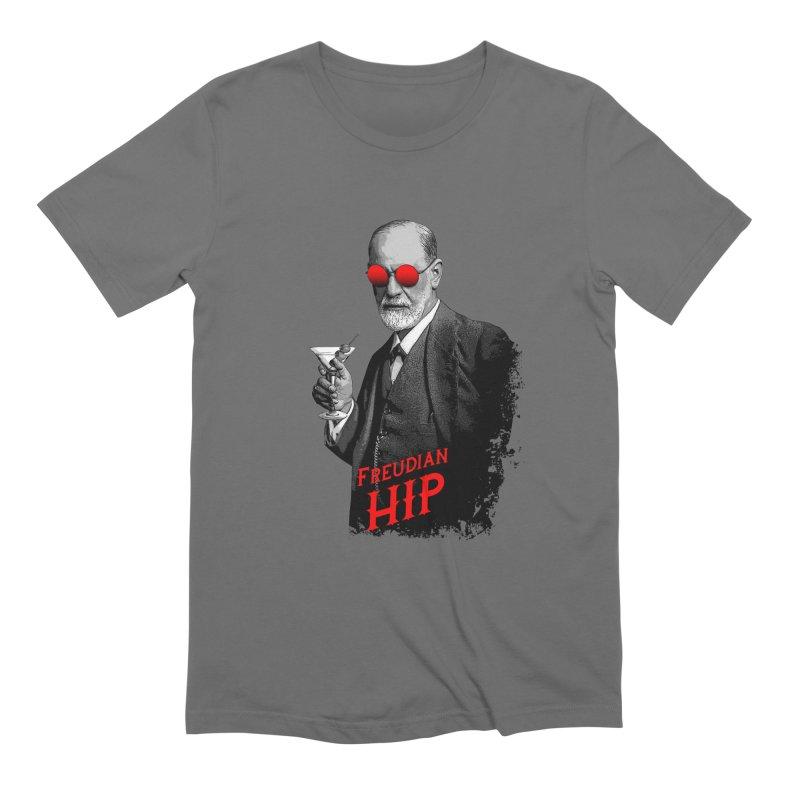 Hipster Psychologist Sigmund Freud Men's T-Shirt by Grandio Design Artist Shop