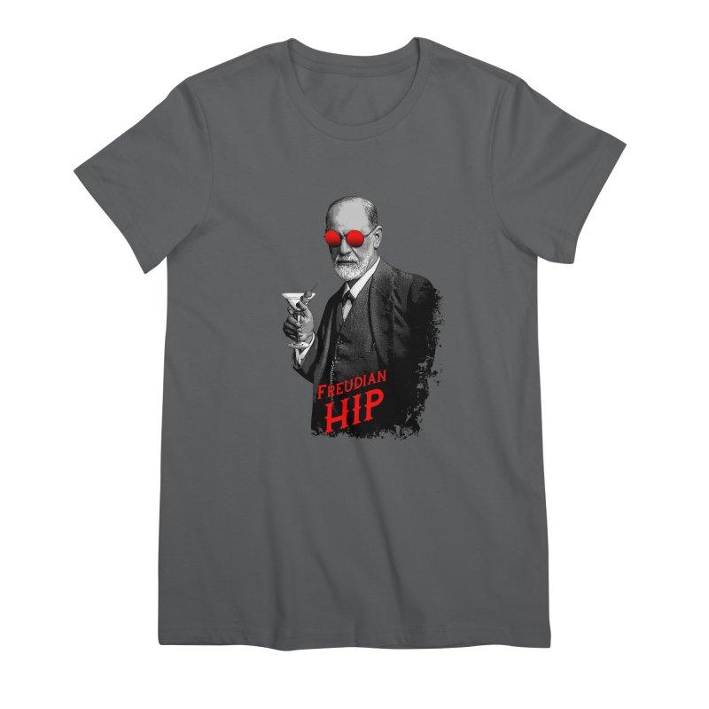 Hipster Psychologist Sigmund Freud Women's Premium T-Shirt by Grandio Design Artist Shop