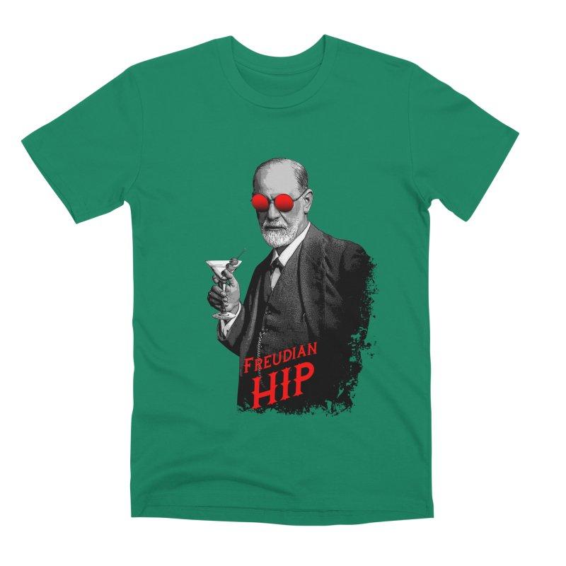 Hipster Psychologist Sigmund Freud Men's Premium T-Shirt by Grandio Design Artist Shop