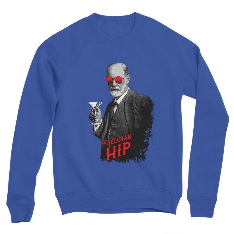 Hipster Psychologist Sigmund Freud Women's Sponge Fleece Sweatshirt by Grandio Design Artist Shop