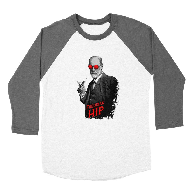 Hipster Psychologist Sigmund Freud Women's Longsleeve T-Shirt by Grandio Design Artist Shop