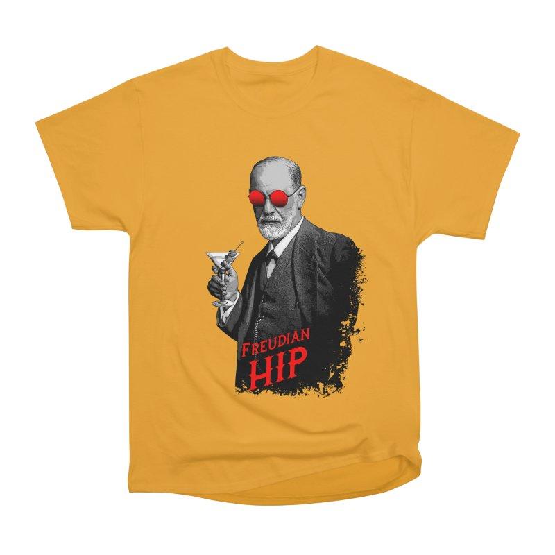 Hipster Psychologist Sigmund Freud Men's Heavyweight T-Shirt by Grandio Design Artist Shop