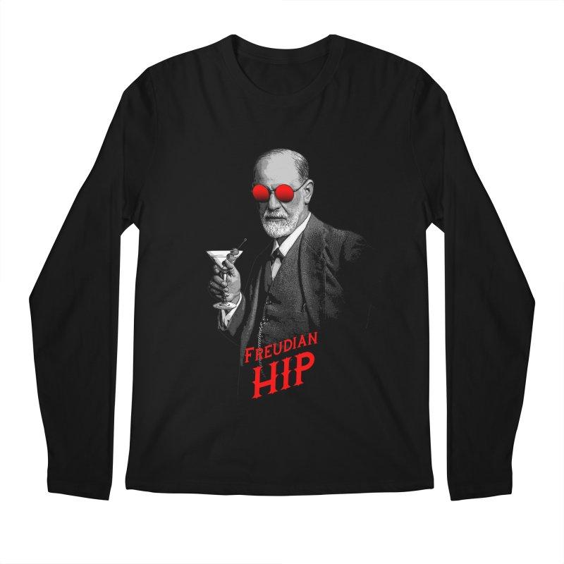 Hipster Psychologist Sigmund Freud Men's Regular Longsleeve T-Shirt by Grandio Design Artist Shop