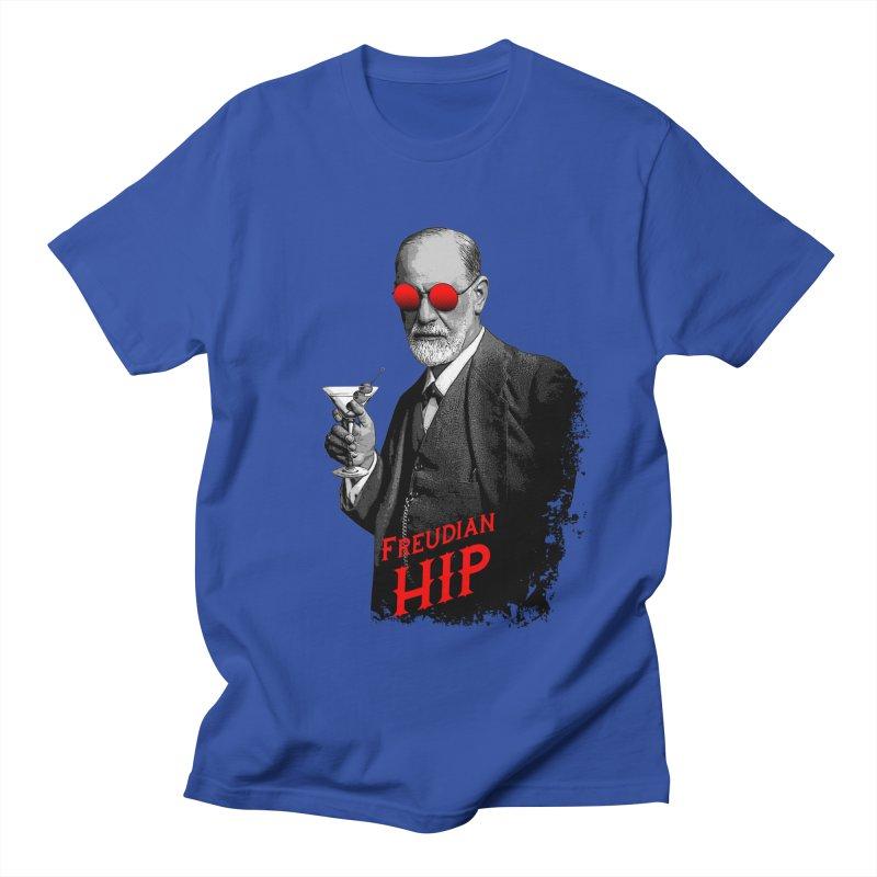 Hipster Psychologist Sigmund Freud Women's Regular Unisex T-Shirt by Grandio Design Artist Shop