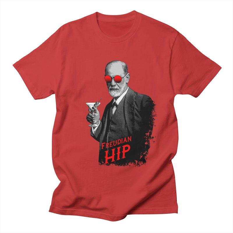 Hipster Psychologist Sigmund Freud Men's Regular T-Shirt by Grandio Design Artist Shop