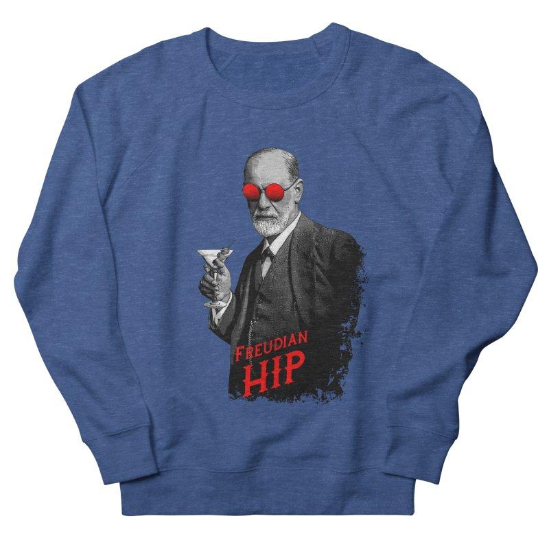 Hipster Psychologist Sigmund Freud Women's French Terry Sweatshirt by Grandio Design Artist Shop