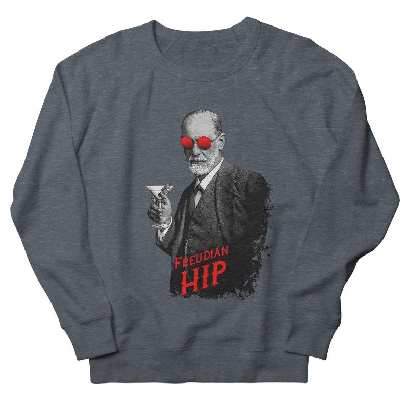 Hipster Psychologist Sigmund Freud Men's French Terry Sweatshirt by Grandio Design Artist Shop