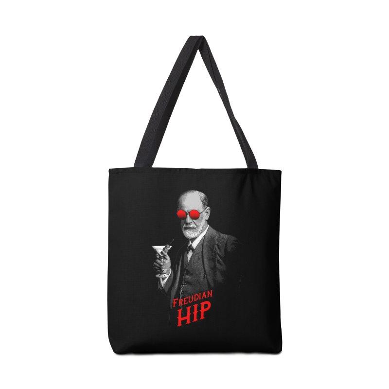 Hipster Psychologist Sigmund Freud Accessories Bag by Grandio Design Artist Shop
