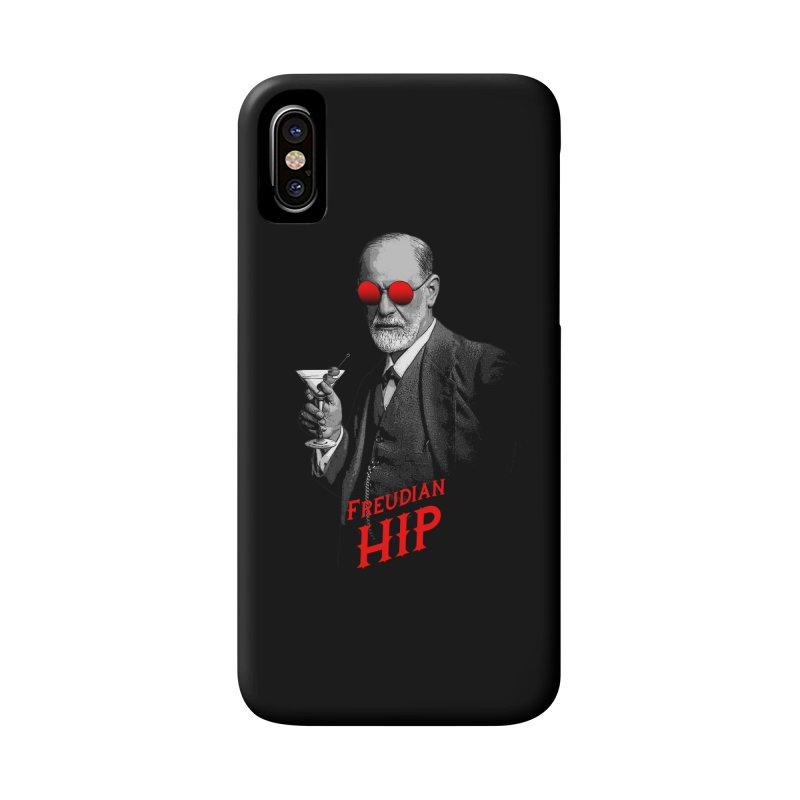 Hipster Psychologist Sigmund Freud Accessories Phone Case by Grandio Design Artist Shop