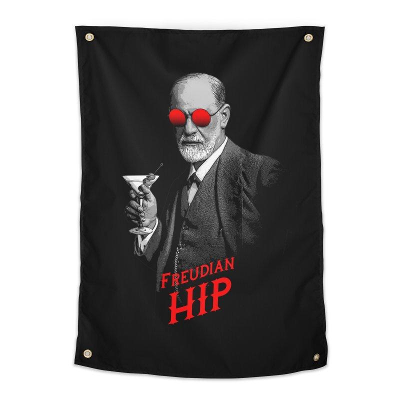 Hipster Psychologist Sigmund Freud Home Tapestry by Grandio Design Artist Shop