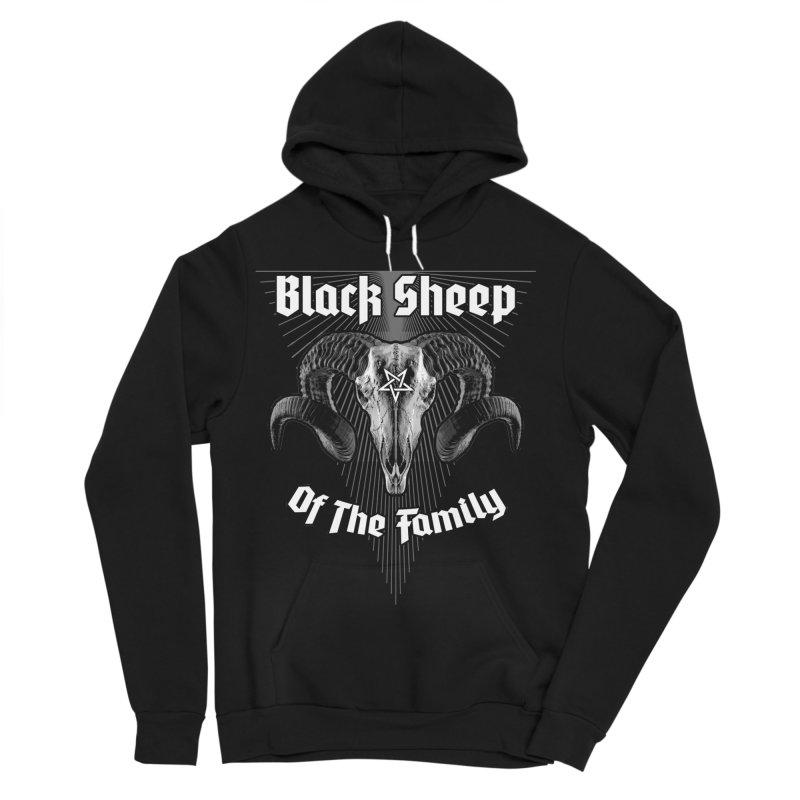 Black Sheep Of The Family Women's Sponge Fleece Pullover Hoody by Grandio Design Artist Shop
