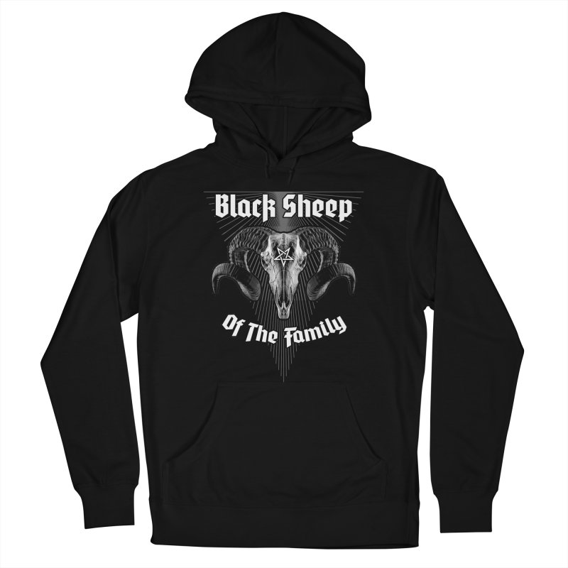 Black Sheep Of The Family Women's Pullover Hoody by Grandio Design Artist Shop