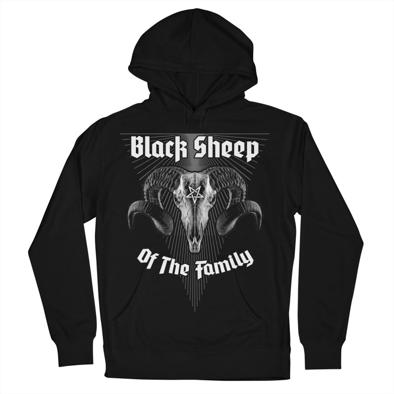 Black Sheep Of The Family Women's French Terry Pullover Hoody by Grandio Design Artist Shop