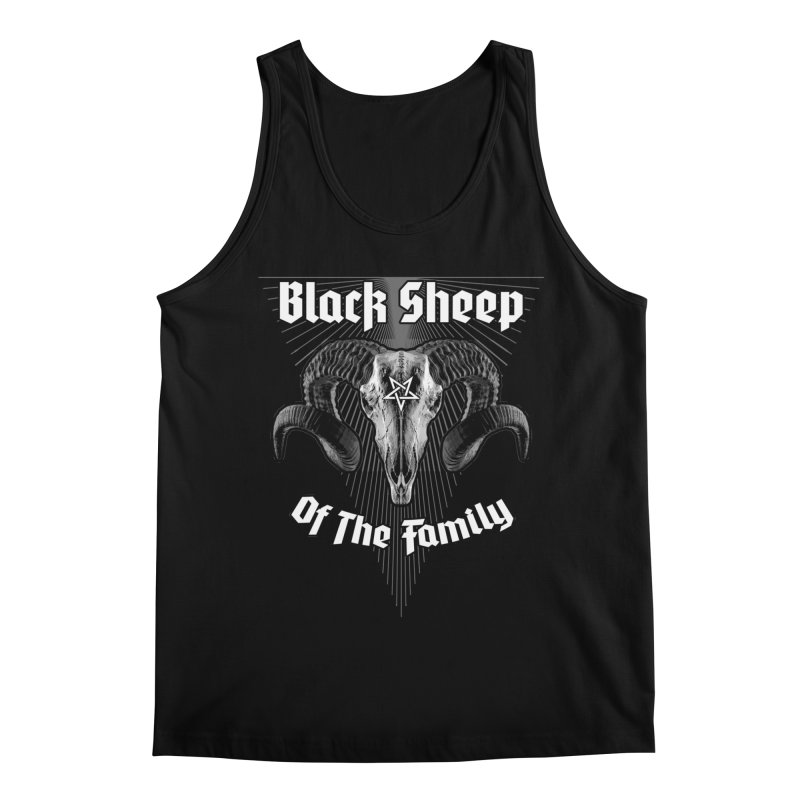 Black Sheep Of The Family Men's Regular Tank by Grandio Design Artist Shop