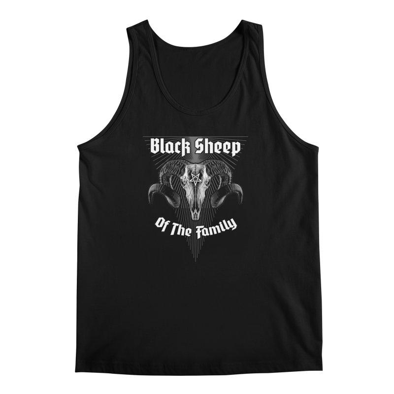 Black Sheep Of The Family Men's Regular Tank by Grandio Design Artist Shop
