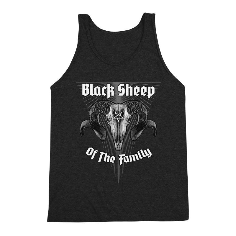 Black Sheep Of The Family Men's Triblend Tank by Grandio Design Artist Shop