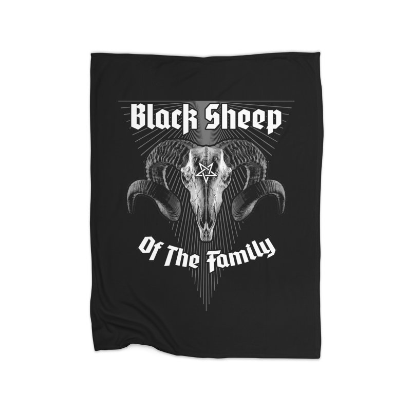 Black Sheep Of The Family Home Blanket by Grandio Design Artist Shop