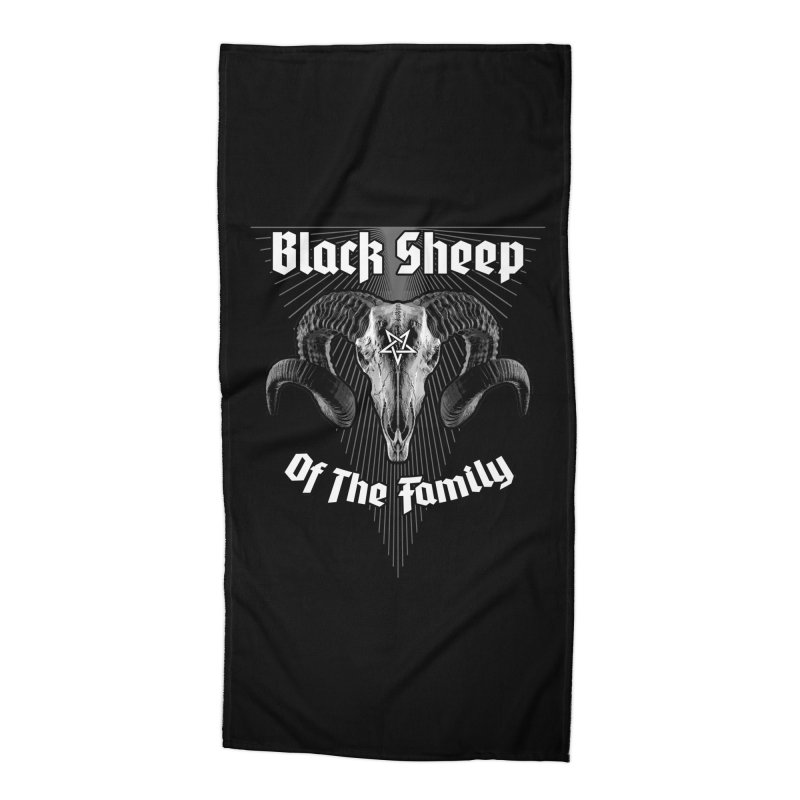 Black Sheep Of The Family Accessories Beach Towel by Grandio Design Artist Shop