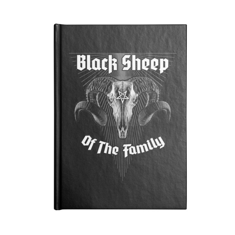 Black Sheep Of The Family Accessories Notebook by Grandio Design Artist Shop