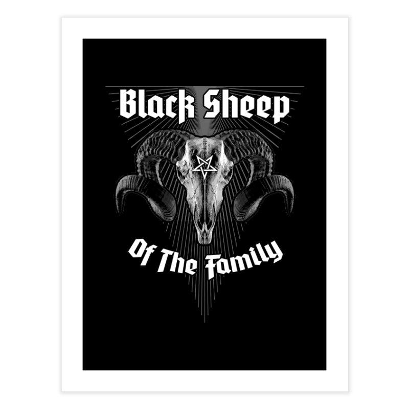 Black Sheep Of The Family Home Fine Art Print by Grandio Design Artist Shop