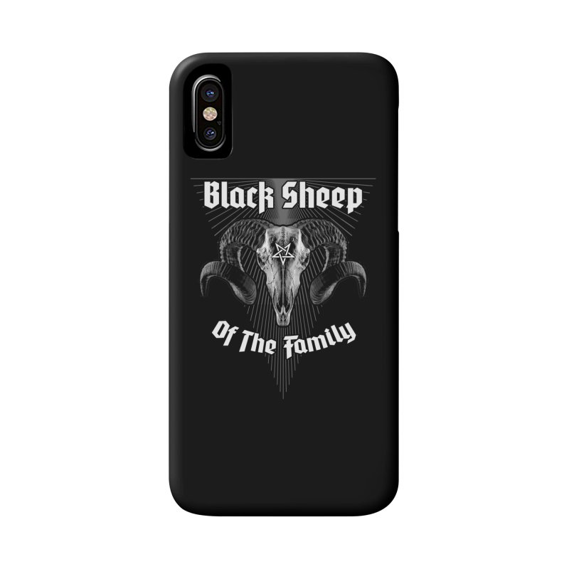 Black Sheep Of The Family Accessories Phone Case by Grandio Design Artist Shop