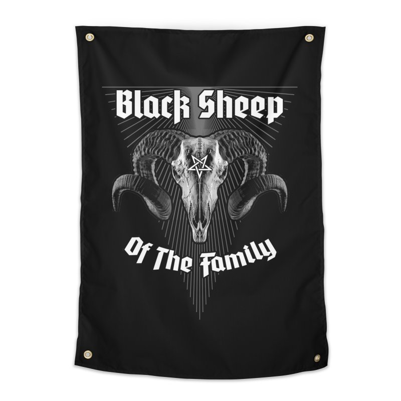 Black Sheep Of The Family Home Tapestry by Grandio Design Artist Shop