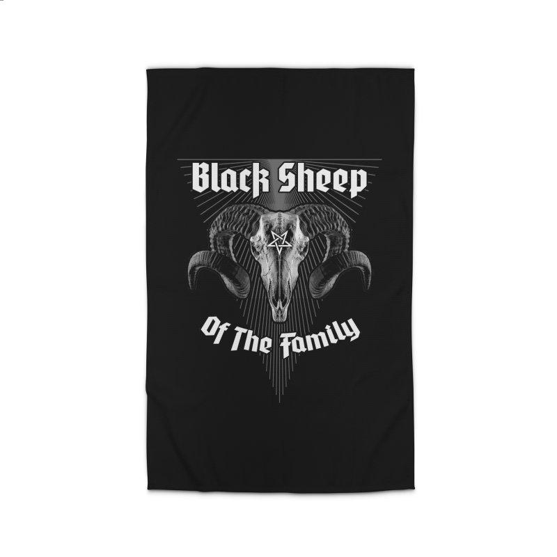 Black Sheep Of The Family Home Rug by Grandio Design Artist Shop