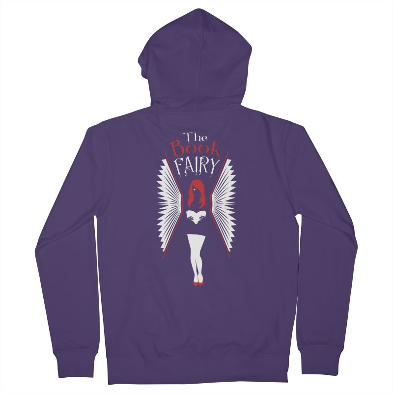 The Book Fairy Women's Zip-Up Hoody by Grandio Design Artist Shop