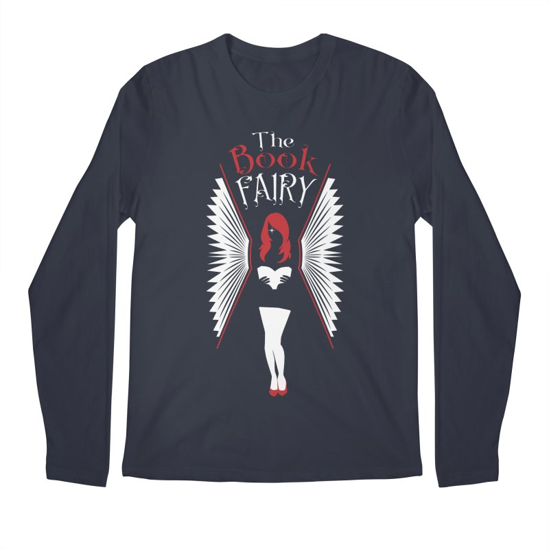 The Book Fairy Men's Regular Longsleeve T-Shirt by Grandio Design Artist Shop