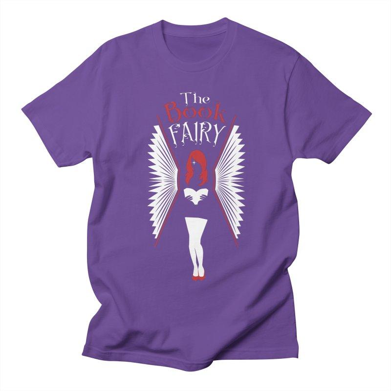 The Book Fairy Men's Regular T-Shirt by Grandio Design Artist Shop