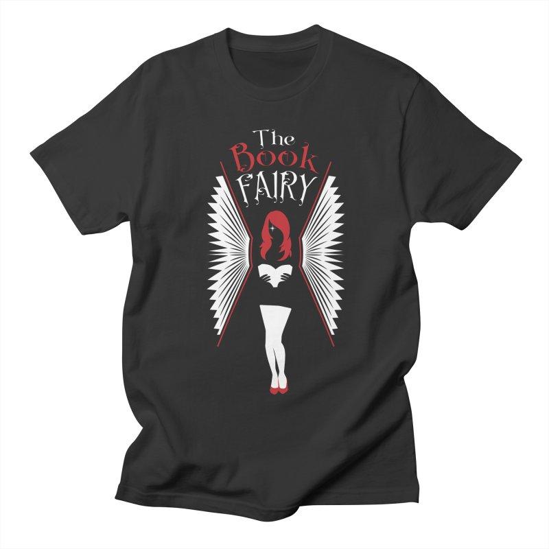 The Book Fairy Women's Regular Unisex T-Shirt by Grandio Design Artist Shop