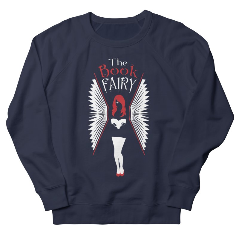 The Book Fairy Women's French Terry Sweatshirt by Grandio Design Artist Shop