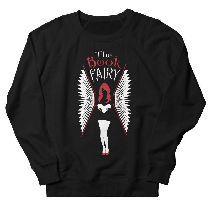 The Book Fairy Men's French Terry Sweatshirt by Grandio Design Artist Shop