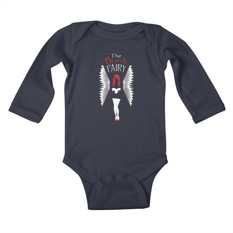 The Book Fairy Kids Baby Longsleeve Bodysuit by Grandio Design Artist Shop