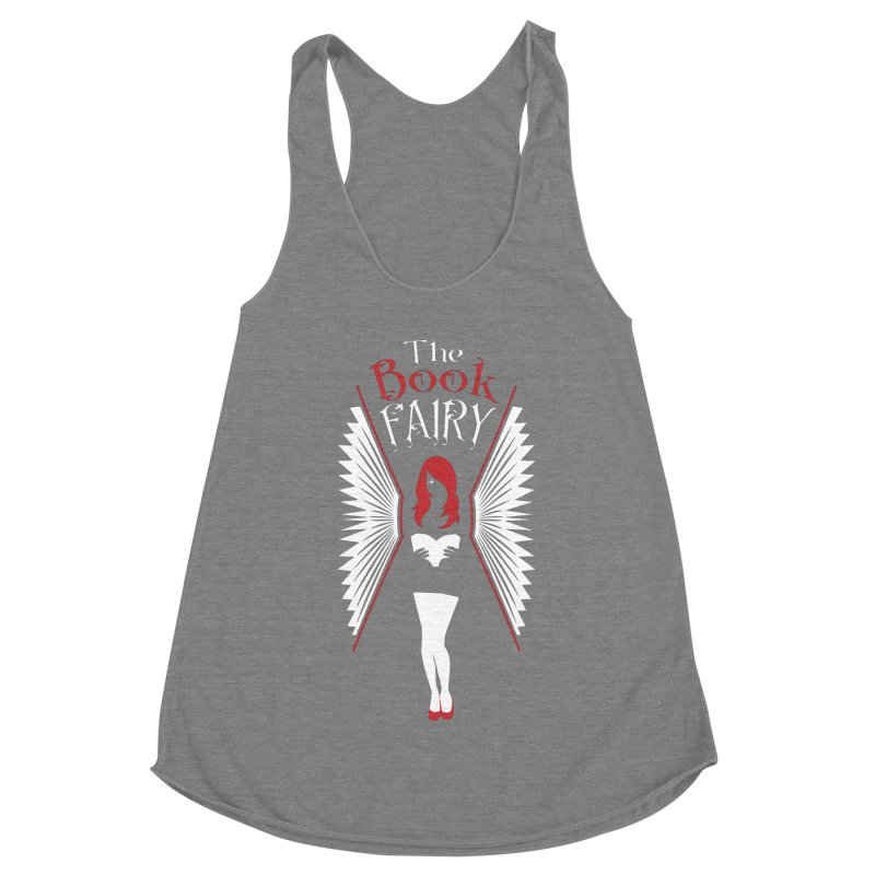 The Book Fairy Women's Racerback Triblend Tank by Grandio Design Artist Shop