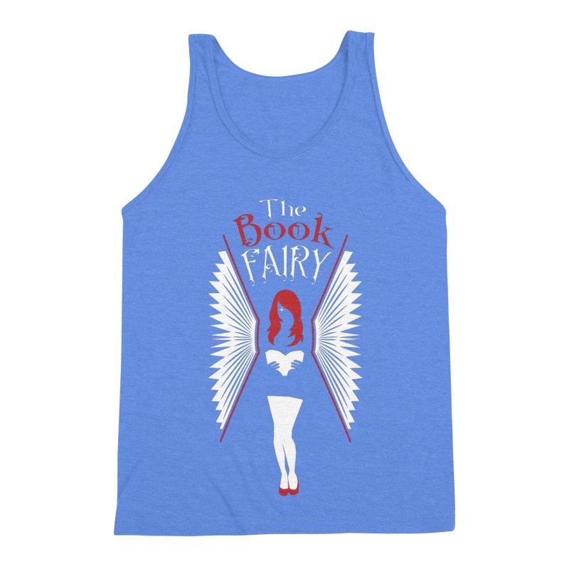 The Book Fairy Men's Triblend Tank by Grandio Design Artist Shop