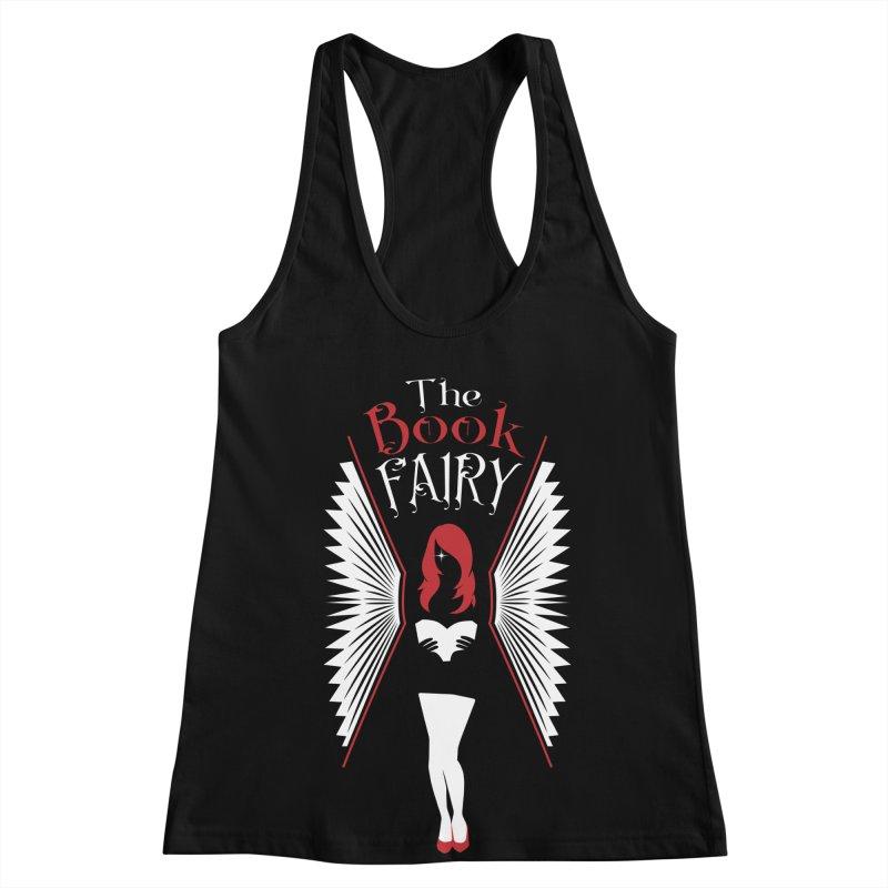The Book Fairy Women's Racerback Tank by Grandio Design Artist Shop