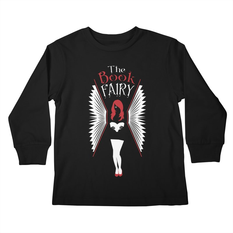 The Book Fairy Kids Longsleeve T-Shirt by Grandio Design Artist Shop