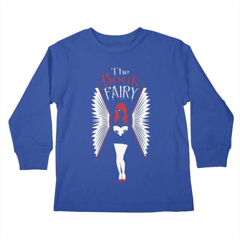 The Book Fairy Kids Longsleeve T-Shirt by Grandio Design Artist Shop