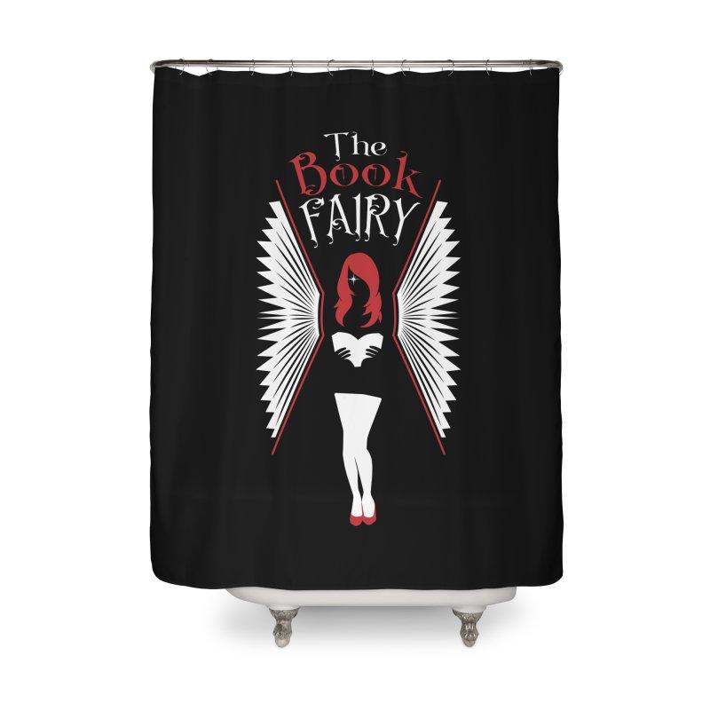 The Book Fairy Home Shower Curtain by Grandio Design Artist Shop