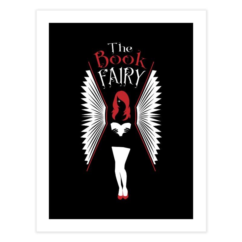 The Book Fairy Home Fine Art Print by Grandio Design Artist Shop
